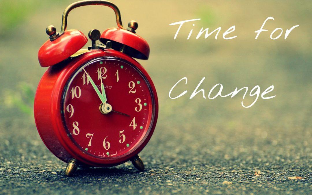 Za pięć dwunasta - czas na zmianę